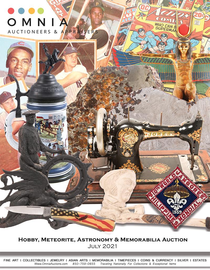 Hobby, Meteorite, Astronomy & Memorabilia Auction