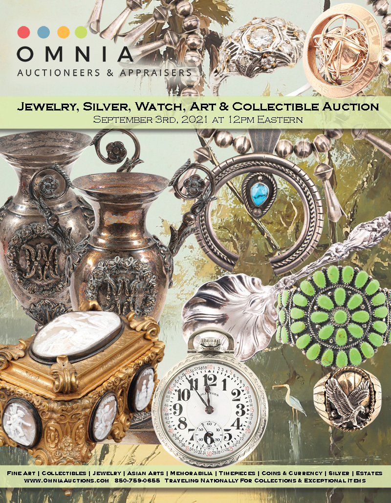 Jewelry, Silver, Watch, Art & Collectible Auction