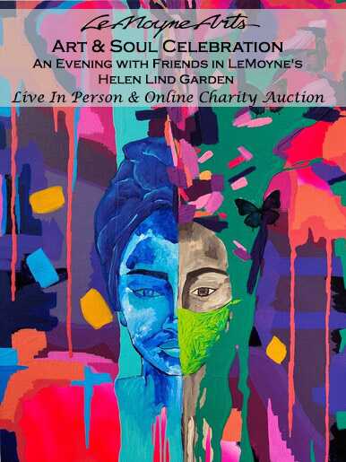 LeMoyne Art & Soul Celebration Live & Online Charity Auction   An Evening with Friends in LeMoyne's Helen Lind Garden