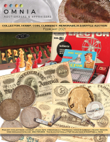 Collector, Hobby, Coin, Currency, Memorabilia & Bottle Auction